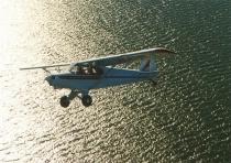Over Lake Glenmaggie