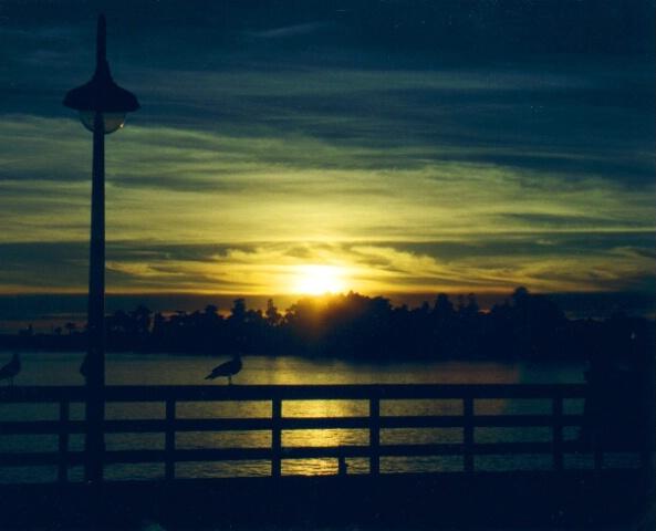"""""""Santa Cruz Sun Set"""""""