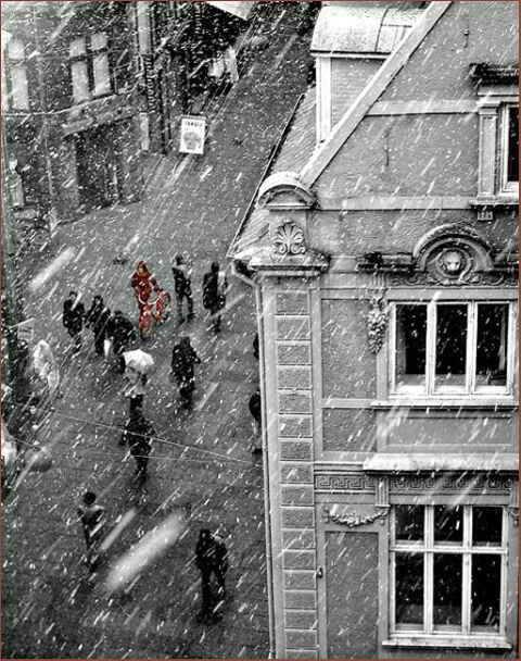 A Snowy Day in Copenhagen