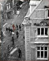 A Snowy Day in Copenhagen