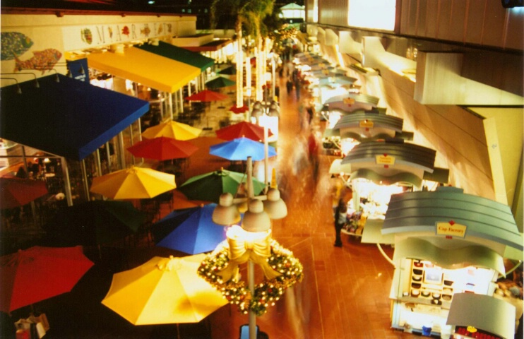 Umbrellas and Booths