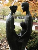 The Sculpture in Berczy Park