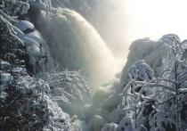 birch falls at -15c