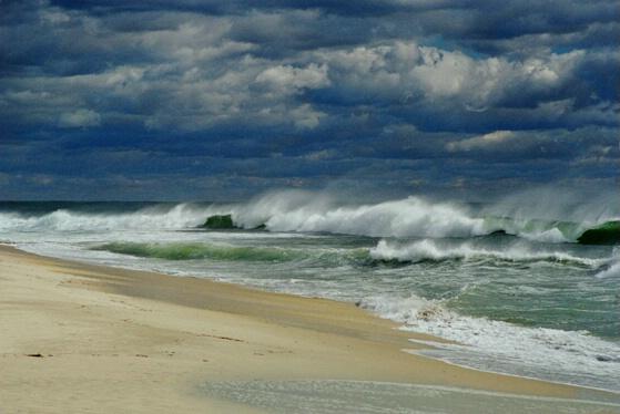 Waves at Jones Beach