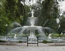 Famous Fountain in Savannah