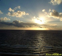 Sunrise at Pompano Beach