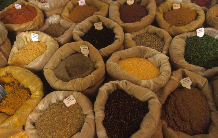 Spices at the Market