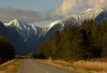 The Road to Pitt Lake