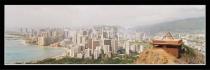 A misty day in Honolulu