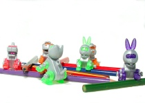 Toys at play