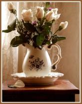 Blue White Rose's