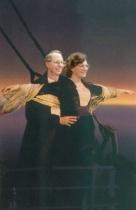 Paula and John on the Titanic