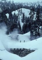Skiers in Cascades