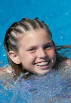 Alison Swimming
