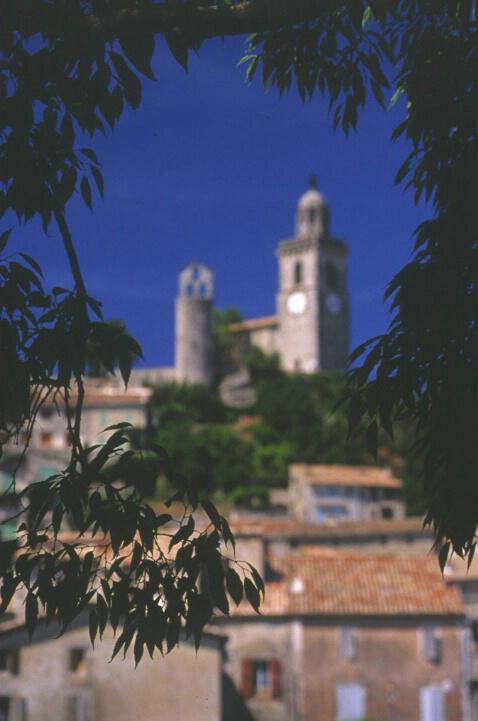 Village View - Tower Blurry