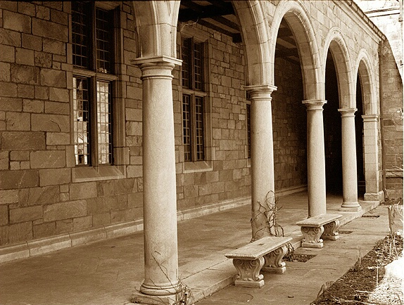 The Cloister in Winter