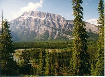 Mt. Rundle, Banff National Park, Canada