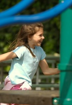 Laurel at the Playground