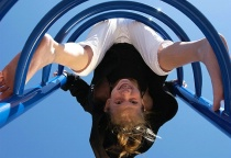 Alison at the Playground