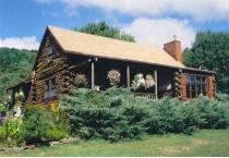 Winne Hollow Log Cabin, After