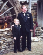 Groom and Stepson