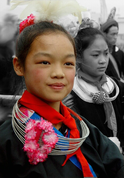 Girl at Parade