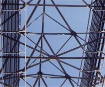 Line - Cellphone Tower Closeup