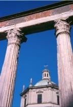 Colonne e Basilica di S. Lorenzo