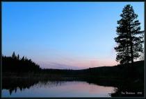 Harmon Lake Sunset