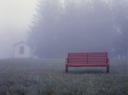 Red Bench