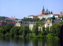 On the Riverbank, Prague