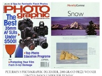 PETERSON'S PHOTOgraphic  DECEMBER 2001