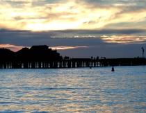 Sunrise Over Wharf