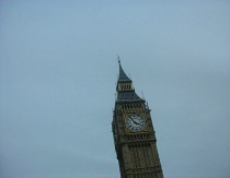 Big Ben from the top of a Double Decker Bus