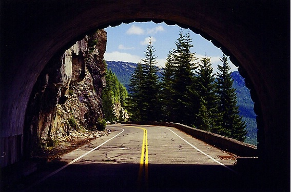 Tunnel on the Mountain