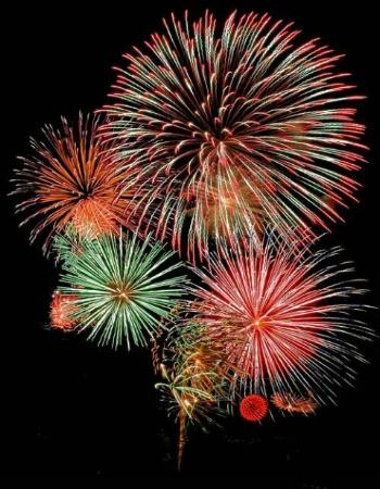 Duluth Fireworks 4July2002