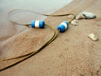 Bouys on the Sand