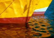 Fishing boats - reflections