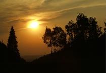 Sunset Over Idaho