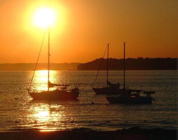 Sunset at Asharoken Beach