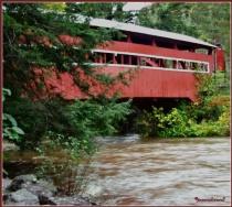 Twin Covered Bridge