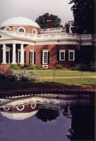 Monticello - reality and reflection!