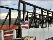 Destroyed by Arson--Ryot Covered Bridge