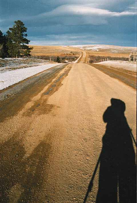 Country Road Self Portrait