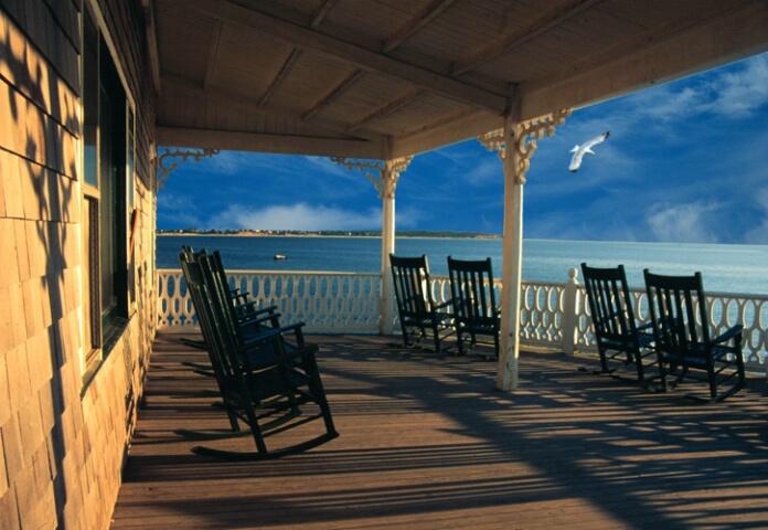 Block Island Porch