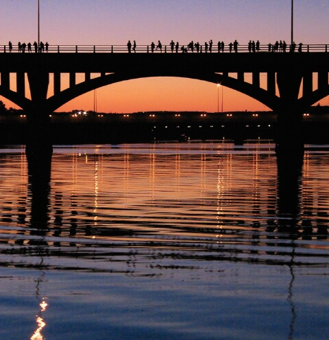 Congress Avenue Bridge, Austin, Tx