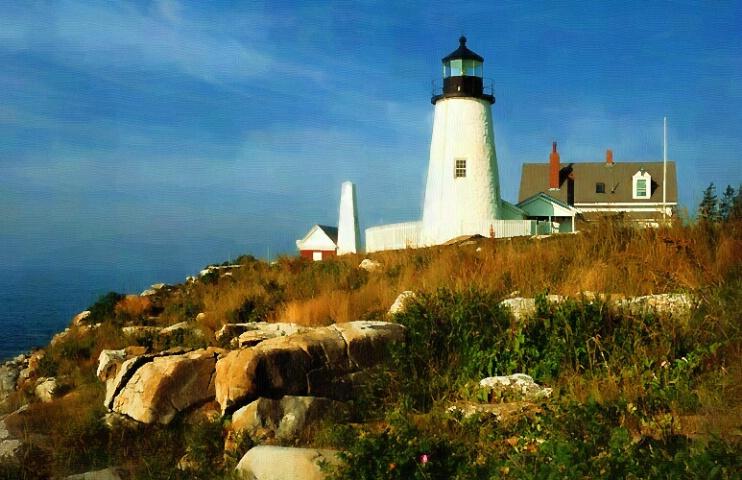 Pemiquid Point Light, Maine