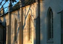 Church at Sundown