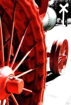 Red Spokes Of The Past