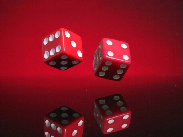 toss of the dice